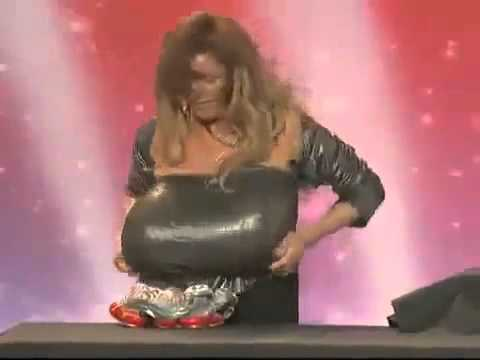 World Strongest Breasts (guinness World Records 2012) video