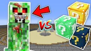 KORKUNÇ CREEPER.EXE VS ŞANS BLOKLARI - Minecraft