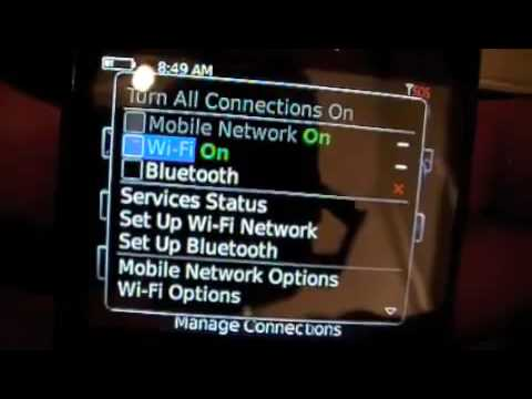 How to Unlock Blackberry 8520 Curve .flv