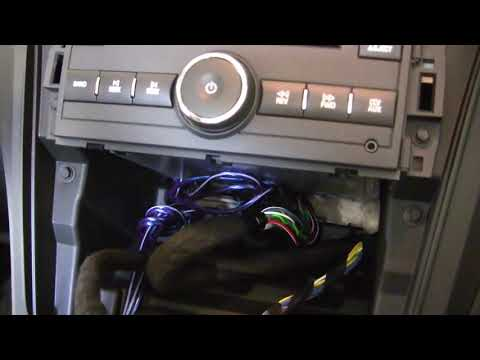 2012 Chevy Traverse Infinity Basslink Install How to