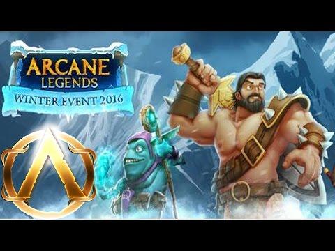 Arcane Legends | Winter Event 2016 + 500k WINNER!!!