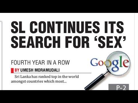 Sl Tops Google's 'sex' Search List Again video