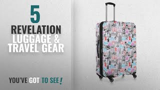 Top 10 Revelation Luggage & Travel Gear [2018]: Revelation Stamps Cj Max Hardside White 31""