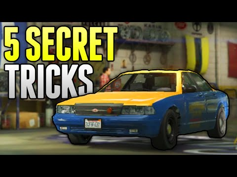 GTA 5 Online - 5 Things You Probably Won't Know in GTA 5 Online! (GTA 5 Tips, Tricks & Secrets)