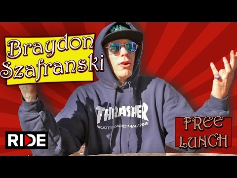 Braydon Szafranski Talks About Ghetto Child Wheels, Weed Maps & More - Free Lunch