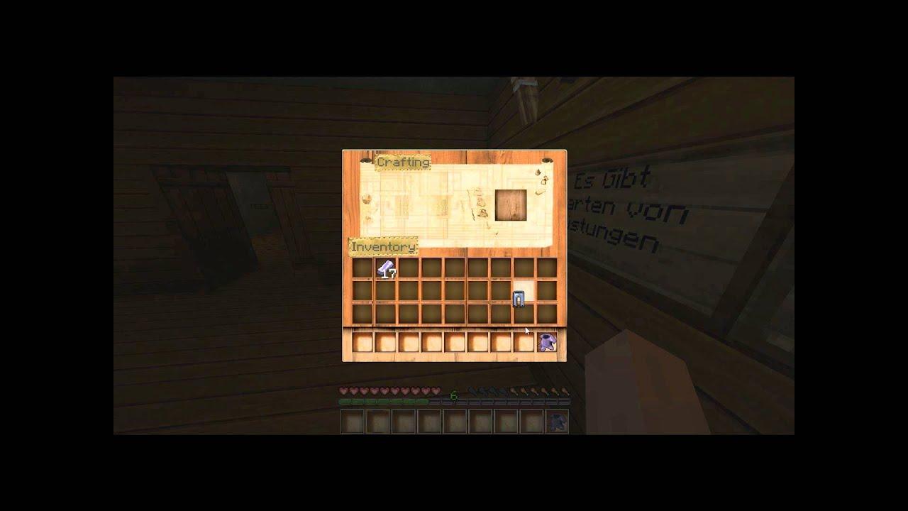 minecraft wie baut man eine r stung youtube. Black Bedroom Furniture Sets. Home Design Ideas