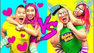 SIS vs. BRO! EXPECTATION vs. REALITY 2 !!! SO FUNNY!!! (CC Available)