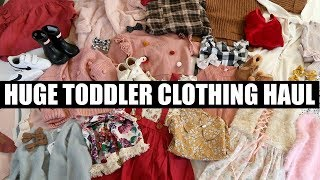 FALL + WINTER TODDLER CLOTHING HAUL | Tara Henderson
