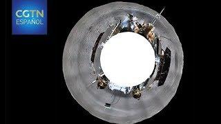 China emite imágenes del alunizaje de la sonda lunar Chang'e-4