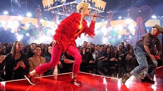 Katy Perry Chained To The Rhythm Ft Skip Marley Iheartradio Awards 2017