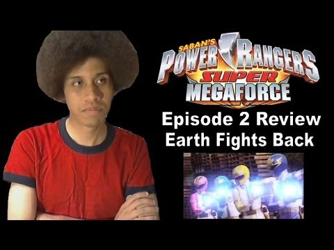 Power Rangers Super MegaForce Episode 2 Review - Earth Fights Back