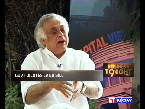 Jairam Ramesh On Land Acquisition Bill Amendments