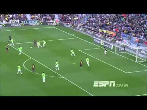 Gols de Barcelona 7 x 0 Osasuna