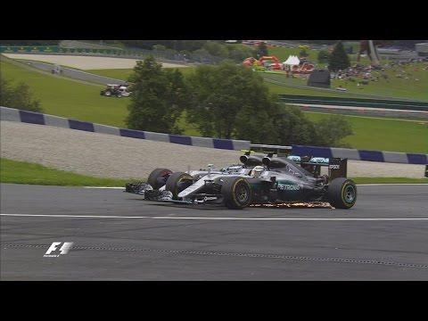 MERCEDES CRASH: F1 2016 Austrian Grand Prix Reaction