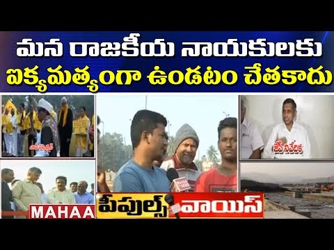 Peoples Voice : Younger Generation Voice About Polavaram Project And AP Special Status | Mahaa News
