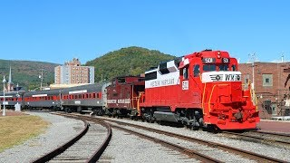 Western Maryland 501's New Livery - Cumberland MD