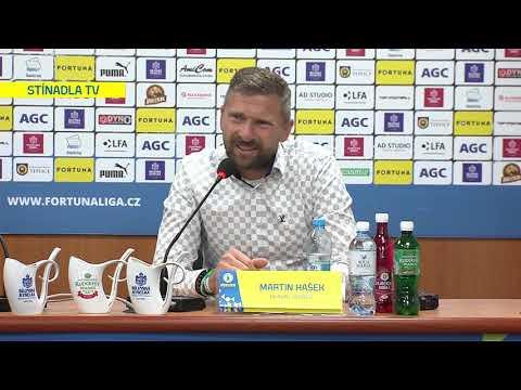 Tisková konference hostujícího trenéra po utkání Teplice - Bohemians 1905 (27.9.2019)
