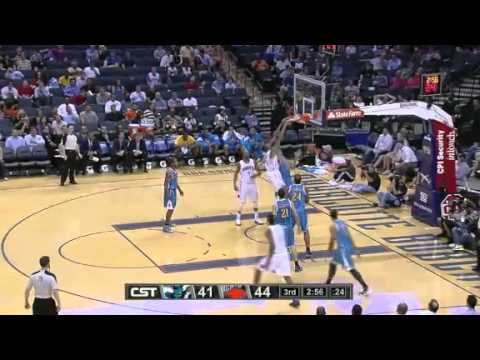 NBA New Orleans Hornets Vs Charlotte Bobcats Highlights April 16, 2012 Game Recap