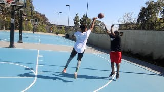 ME AND DDG 1V1 BASKETBALL MATCH * I DIDNT WEAR A HAT * 😂