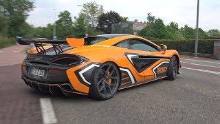 McLaren 570S GT4 Simon Motorsport - Lovely Accelerations!