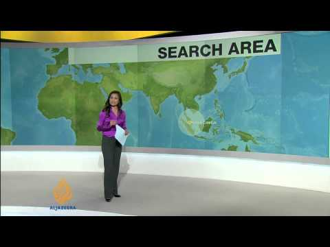 Search area for missing Malaysian jet extends further