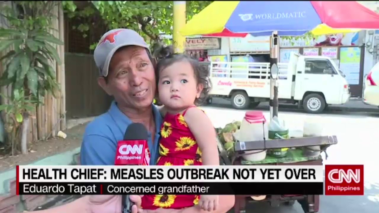 Health Chief: Measles outbreak not yet over