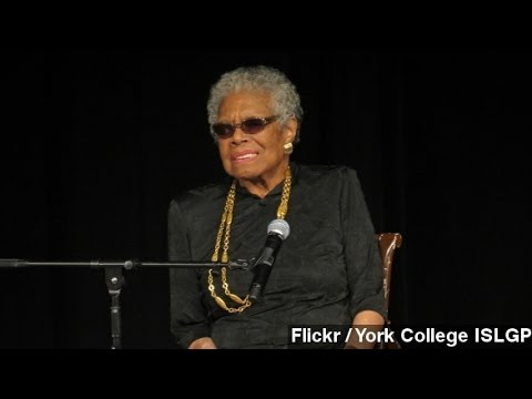 Maya Angelou, Civil Rights Activist And Poet, Dies At 86