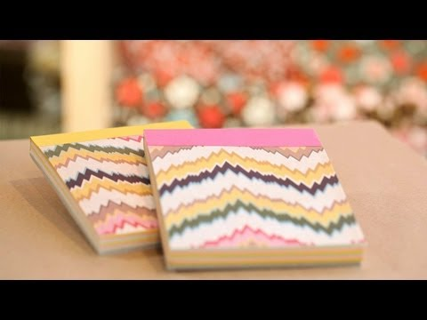 How to Make DIY Paper Notepads || KIN DIY