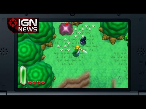 IGN News - New Zelda Game Announced For Nintendo 3DS