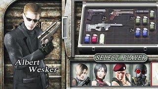 Resident Evil 4 (PS4 1080p 60fps) - The Mercenaries - Albert Wesker (All Stages)