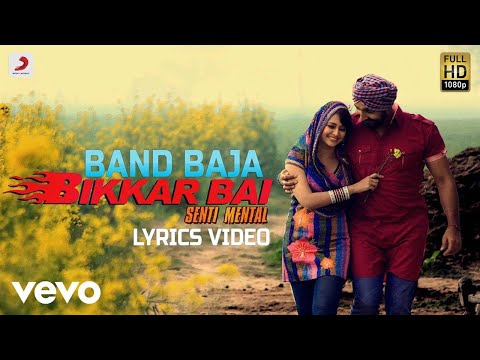 Band Baja - Lyrics Video | Jassi Jasraj  |Bikkar Bai Senti Mental