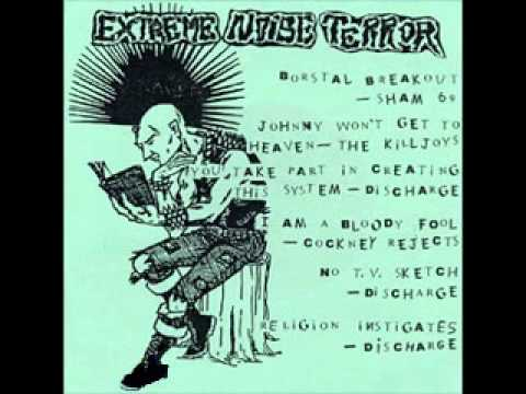 Extreme Noise Terror - Punker Than Punk EP