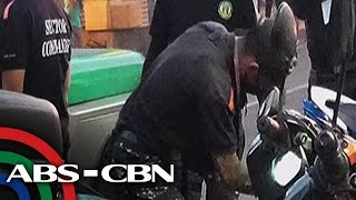 TV Patrol: Plaka ng motor, binaklas ng enforcer