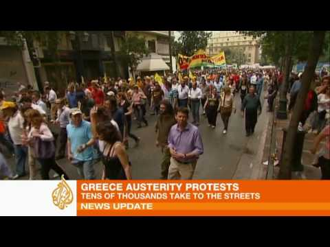 Greek protests turn deadly