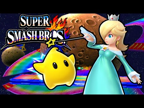 Super Smash Bros 4 3DS: Rosalina & Luma! New Character Gameplay Walkthrough Nintendo PART 15