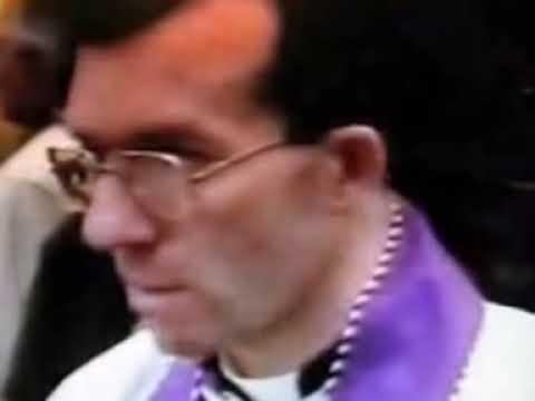 Funerales de M. Marcel Lefebvre
