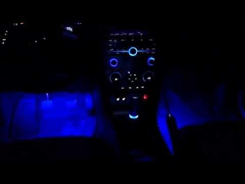 Пересвет панели Mazda 3