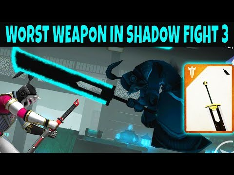 Shadow Fight 3. Old Timer - Giant Sword! Review. Worst Weapon in The Game?