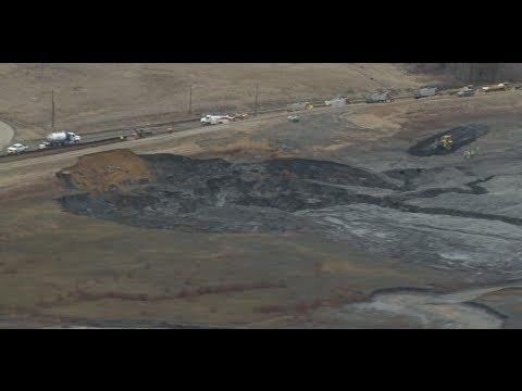 Duke Energy's giant coal ash spill in Eden, NC