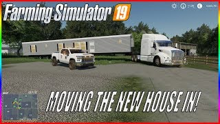 MOVING NEW HOUSE IN & REMODELING THE FARM! - MIDWEST HORIZON EP 9   FS19 RP