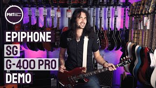 Epiphone SG G-400 Pro Demo Review