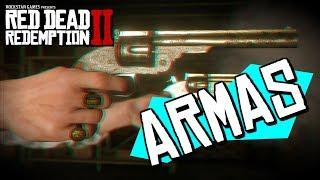 Red Dead Redemption 2 : ARMAS Confirmadas