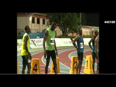 Usain Bolt 10.09 100m Men Cayman Invitational 2013