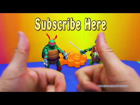 TEENAGE MUTANT NINJA TURTLES Nickelodeon Leo & Raph TMNT Mutations TMNT Video Toy Review