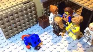 Lego animation #13 the fall of Spiderman