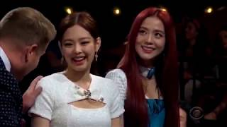 BLACKPINK @ THE LATE LATE SHOW (FLINCH GAME)