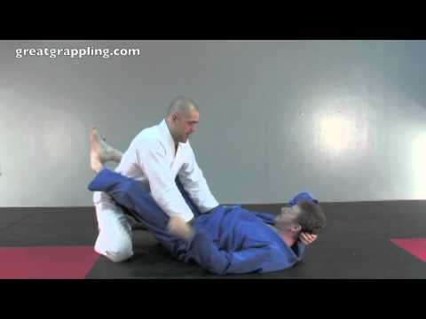 Closed Guard Pass Double Pants Control Image 1