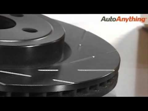 EBC Ultimax Slotted Rotors Review: AutoAnything Product Demo
