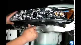 Spec-D 1998-2002 Honda Accord Projector Headlights Installation Video