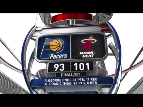 Indiana Pacers vs Miami Heat - February 22, 2016